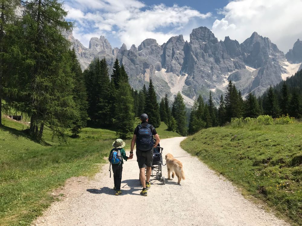 Dolomites Dog Friendly – THE TRAVELLING GOLDEN FAMILY